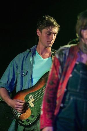 Albert playing bass