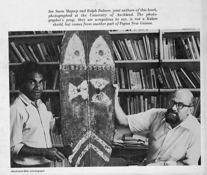 Ralph Bulmer and Ian Saem Majnep.