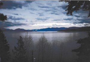 Lake Pend Oreille in February