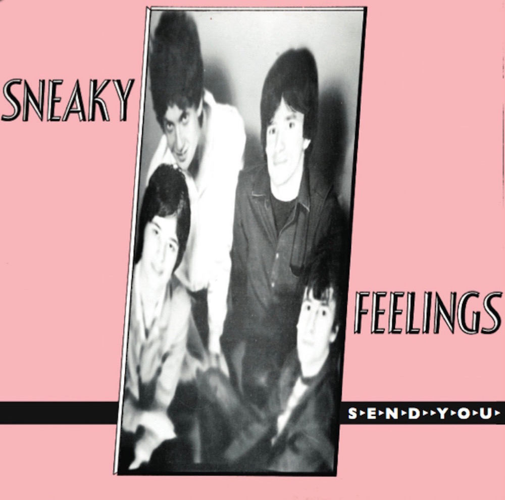 Sneaky Feelings Send Yu album cover