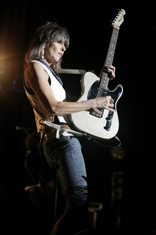 Chrissie Hynde in 2013. By Harmony Gerber from Los Angeles | Orange County, USA (The Pretenders / Chrissie Hynde) [CC BY 2.0 (http://creativecommons.org/licenses/by/2.0)], via Wikimedia Commons