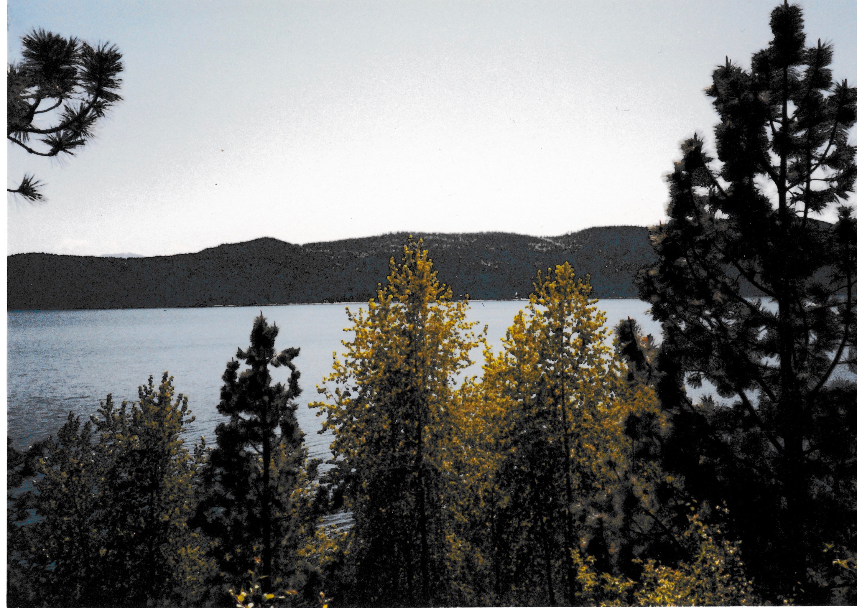 Lake Pend Oreille in August