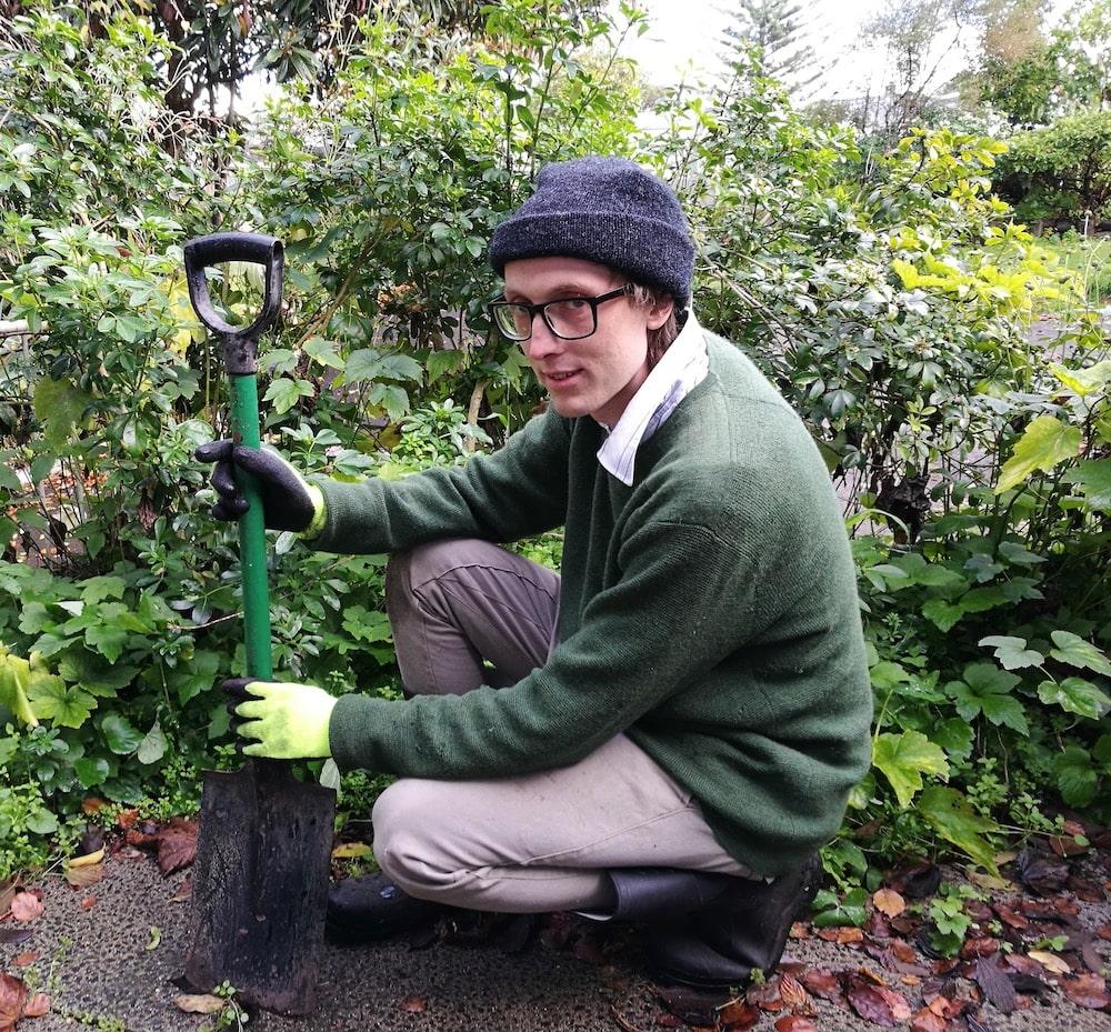 Tom Bannister gardener